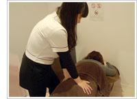 女性柔道整復師